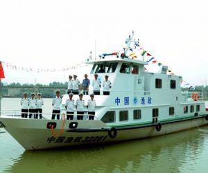 骆马湖50吨级渔政船正式入列