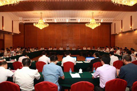 7月30日,乌东德,白鹤滩核准工作协调会在京召开.(严艺 摄影)