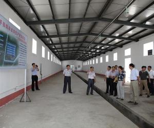省南水北调局赴东平湖蓄水影响处理工程开展党的群众路线教育实践活动