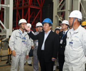交通运输部副部长高宏峰一行到港珠澳大桥主体工程考察调研