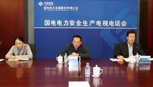 公司召开安全生产视频会议