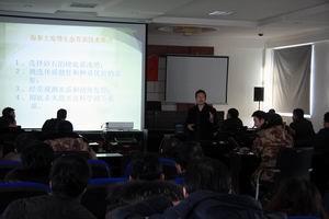大连海洋大学专家为锦州养殖户送科技服务