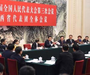 习近平在江西团强调:把老区发展放心上,反腐促进了经济发展