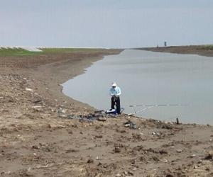 东滩保护区查处非法入区钓鱼人员