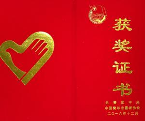 """我厅志愿服务项目荣获""""中国青年志愿者优秀项目奖""""(图)"""