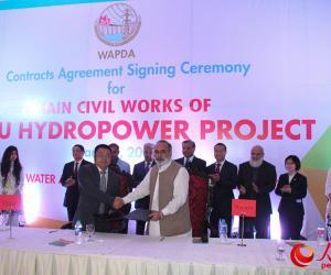 中企签约巴基斯坦总投资最大水电站项目