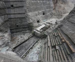 乌东德大坝首仓混凝土明日开始浇筑