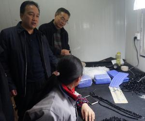 昭通渔洞水库管理局领导干部深入挂钩企业开展帮扶工作