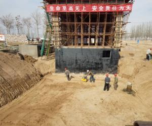 工程公司:加紧引五济惠泵站改造工程建设