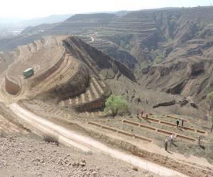国家水土保持重点建设工程甘肃省镇原县翟池项目区2017年工程进展顺利