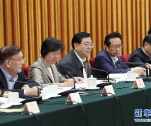 张德江:扎实开展执法检查工作 积极推进生态环境改善