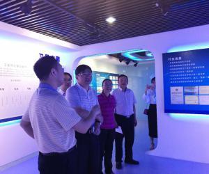 张军厅长一行赴中国航天科工信息技术研究院考察交流