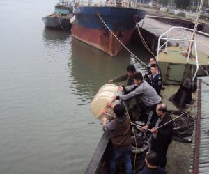 强化救生设备督查 确保渔业生产安全