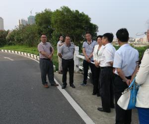 副市长程凤英率队检查连环水库防汛工作
