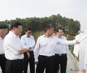王伟中书记调研西丽水库时强调全力保障城市水安全