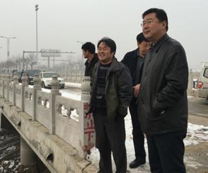 局长王步新到定州考察2015年沙河灌区续建配套和节水改造工程