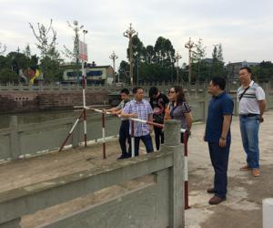金玉梅副局长到夹江县调研农业水价综合改革工作