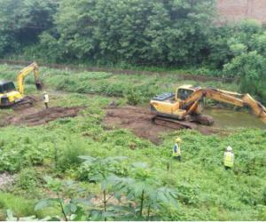 金鱼河城区段河道清淤工程一期 今日开工