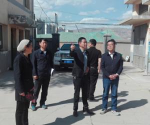 马忠英副市长督导检查城东区防汛工作
