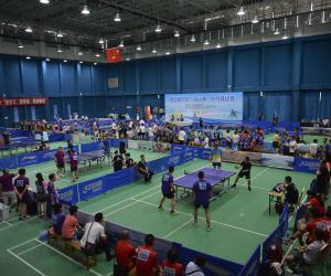 """第四届广东""""海洋杯""""乒乓球比赛在惠州举办"""