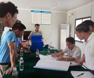 【原创】省水务厅第二组到东方市开展安全生产检查工作