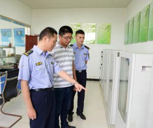 中国海监江苏省总队直属支队开展环境保护专项执法行动(图文)