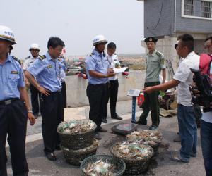 响水严厉查处违反海洋伏季休渔制度行为(图文)