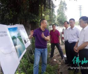 李永生局长带队到三水区督查重点工程及三峡移民工作