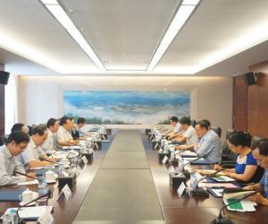 王琳会见中国人寿集团总裁袁长清