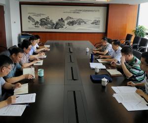 省海洋与渔业局副局长陈远景带队到省渔业互保协会开展安全大检查