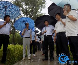 黄河水利委员会副主任薛松贵调研柳林水文站工作