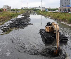 强力推进新凯河综合治理工程建设进程