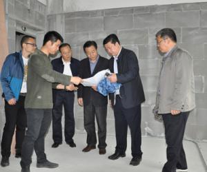 汤建鸣局长调研太湖渔业水质监测站业务用房项目