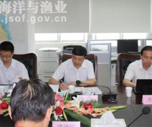 夏前宝副局长到省海涂研究中心检查指导海洋观测台站建设工作