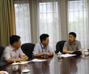 国家海洋专项督察组(第五组)与广西进一步交流宣传舆情工作