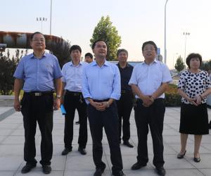 濮阳市第一总河长、马颊河总河长、市委书记何雄到马颊河巡查