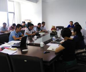 海南省海洋与渔业科学院传达学习贯彻省委七届二次全会精神