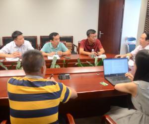 海南省海域动态监管中心配合国家海洋督察组(第六组)开展围填海专项督察现场核查工作