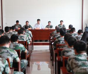 南水北调山东干线公司第一期军训班结业