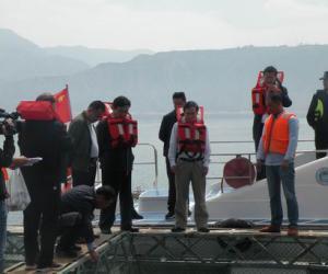 农业部渔业渔政管理局副局长李书民到甘肃省调研指导