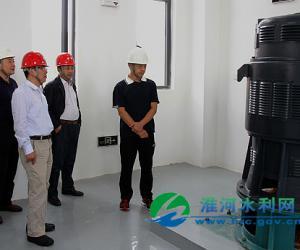 淮干蚌浮段申家湖泵站工程通过机组启动验收
