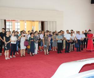 水利厅组织参观《守望相助团结奋斗—庆祝内蒙古自治区成立70周年展览》