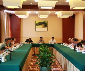 台州市基层渔技推广体系改革与建设补助项目工作会议在临海召开