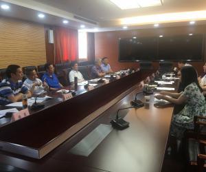温州市人大常委会任玉明副主任带队考察学习海洋资源和环境保护工作