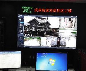 武原街道双桥圩区闸站自动化控制系统首次投入运行