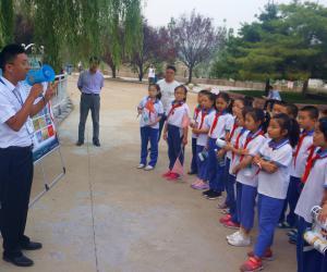 平阴田山电灌处开展水利知识科普教育活动