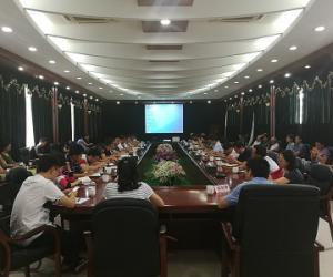 """市水务局召开第二轮""""农林水三年行动""""实施方案及项目前期培训会议"""