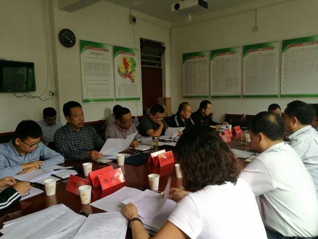 市水利局召开凤翔扶贫团第三次包扶工作联席会议