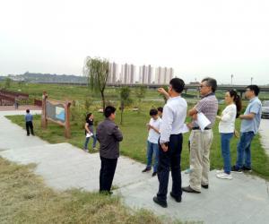 黄委水资源保护局调研组深入我市调研渭河干流水资源保护工作情况