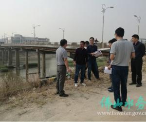 市水务局开展河道管理范围内工程建设方案审批事项事中监督检查